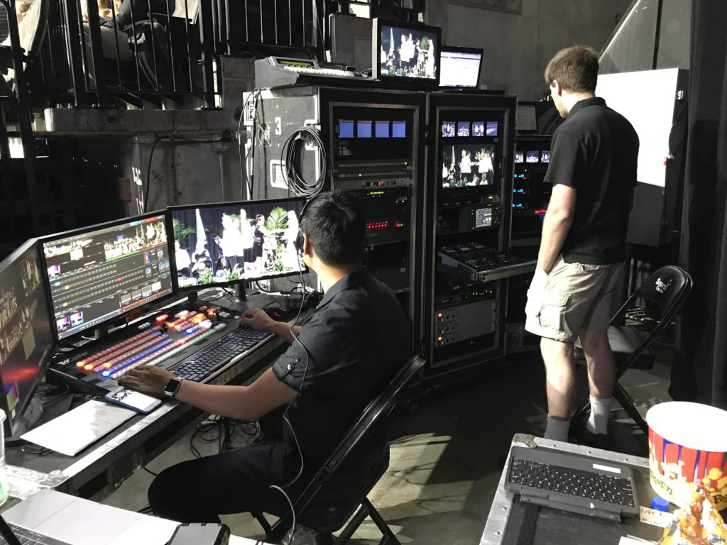 Live Event Directing and Streaming