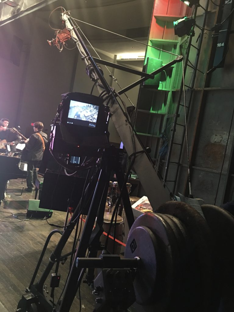 Live Music Concert Camera Jib