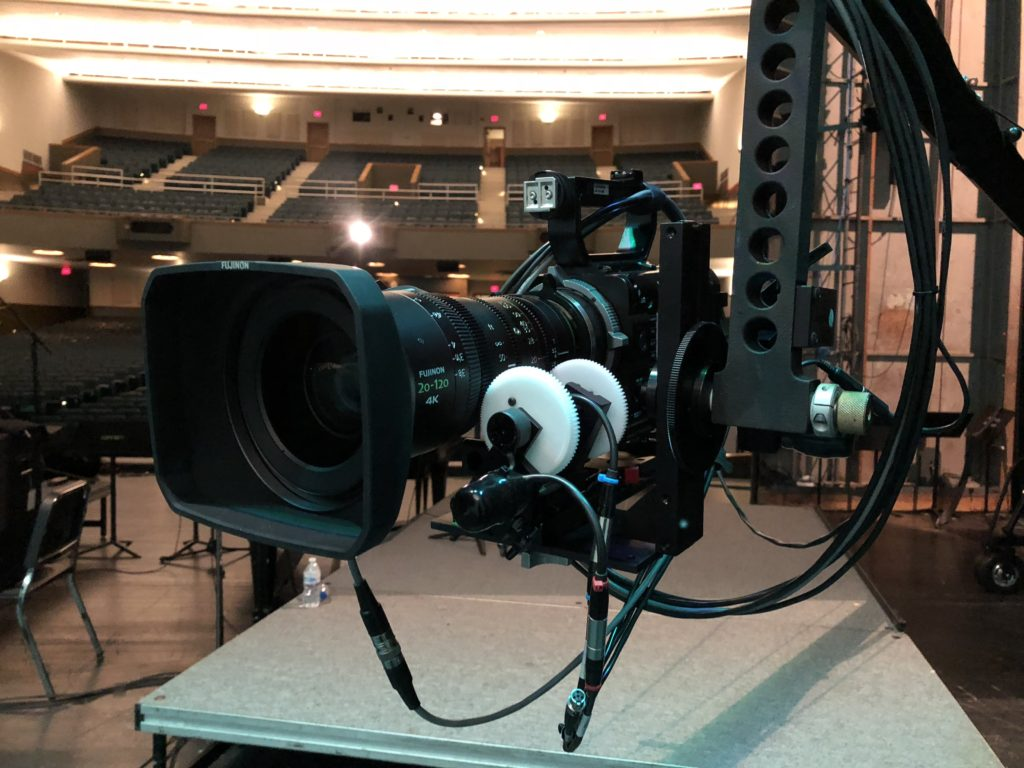 Remote Controlled Camera Jib Head